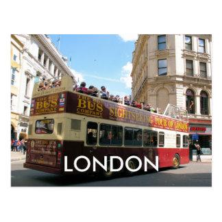 Siteseeing London Westminster UK postcard