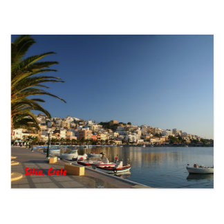 Sitia morning postcard