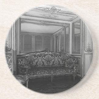 Sitio 1970 de Mme Barry del palacio de Francia Posavasos Para Bebidas