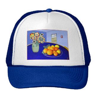 Sitio azul # 1 casquillo gorras de camionero