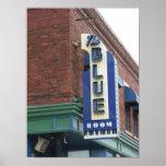 Sitio azul histórico - poster de Kansas City