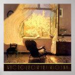 Sitio con una visión Wyczolkowski Wiosna Poster