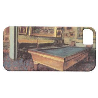 Sitio de billar de Edgar Degas iPhone 5 Funda