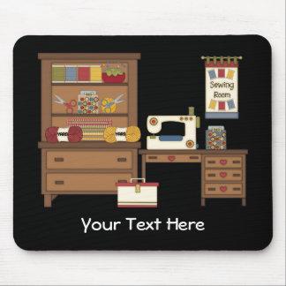 Sitio de costura 1 (personalizado) mouse pad