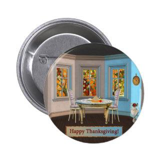 Sitio de Dinning de la acción de gracias con la Pin