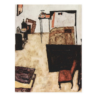 Sitio de Egon Schiele- Schiele en Neulengbach Tarjeta Postal