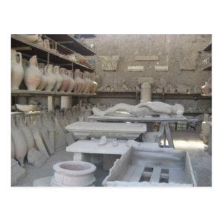 Sitio de la cerámica en Pompeya Postal