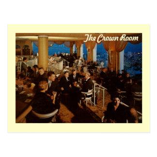 Sitio de la corona, hotel de Fairmont, vintage de  Postales