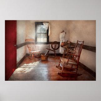 Sitio de la costura - sitio - de la abuela de cost póster