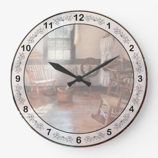 Sitio de la costura - sitio - de la abuela de cost reloj redondo grande