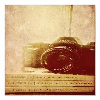 Sitio de la impresión de la foto… con una visión