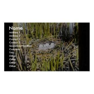 Sitio de la jerarquía del pantano de Klamath Plantillas De Tarjetas Personales