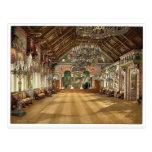 Sitio de la música, castillo de Neuschwanstein, Ba Tarjeta Postal