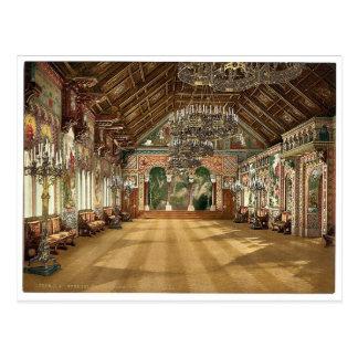 Sitio de la música, castillo de Neuschwanstein, Tarjetas Postales