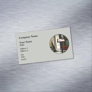 Sitio de la música con la arpa tarjetas de visita magnéticas (paquete de 25)