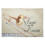 Sitio de la música del Trombone Manteles