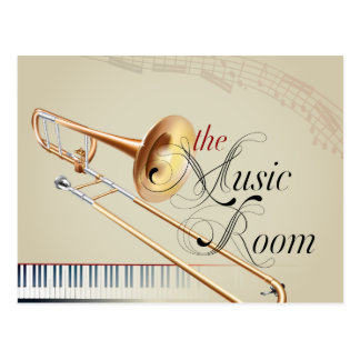 Sitio de la música del Trombone Postales