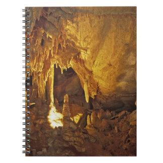 Sitio de la pañería, parque nacional de la cueva g libro de apuntes