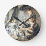 Sitio de la pintura de Sr. Baxter, orfebre Stree d Reloj Redondo Mediano