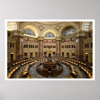 Sitio de lectura de la Biblioteca del Congreso, Wa Póster