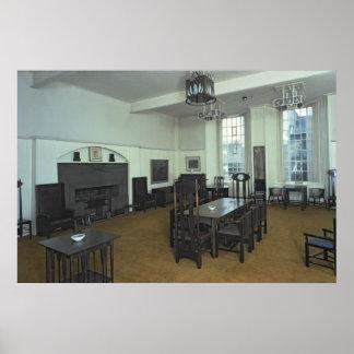 Sitio de Mackintosh Póster