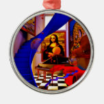 Sitio de Mona Lisa Ornamento Para Reyes Magos