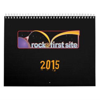 sitio de rock@first, 2015 calendario de pared