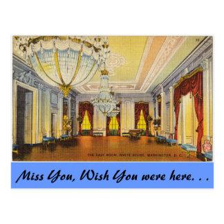 Sitio del este, Casa Blanca Tarjetas Postales