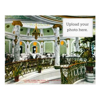 Sitio del té de la corte del laurel tarjeta postal