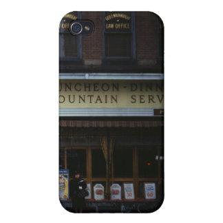 sitio del té de los años 40 iPhone 4 cárcasas