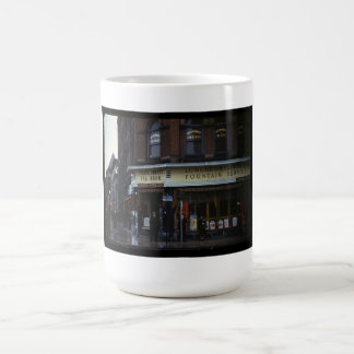 sitio del té de los años 40 taza