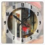 Sitio del té en SoNo Norwalk, CT Relojes De Pared