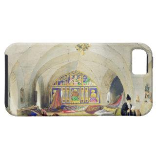 Sitio en un convento armenio, en Jerusalén (color iPhone 5 Funda