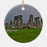 Sitio histórico antiguo de Stonehenge del poder Ornamento De Navidad