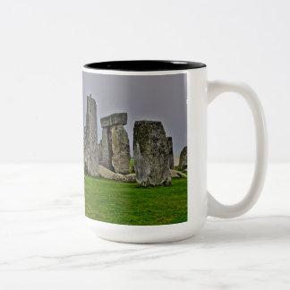 Sitio histórico antiguo de Stonehenge del poder Tazas De Café