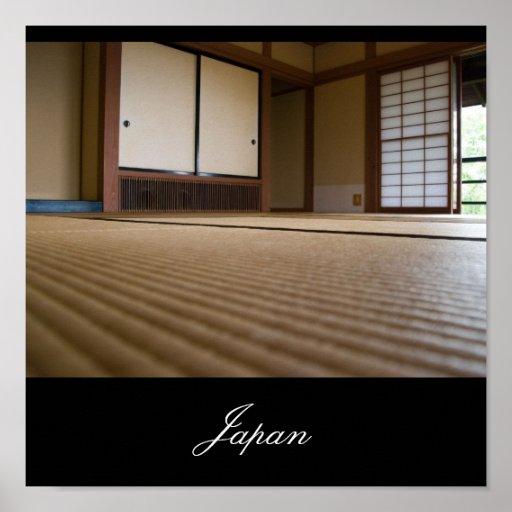 Sitio japonés tradicional, imágenes de Japón Poster