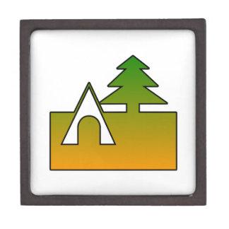 Sitio para acampar caja de joyas de calidad