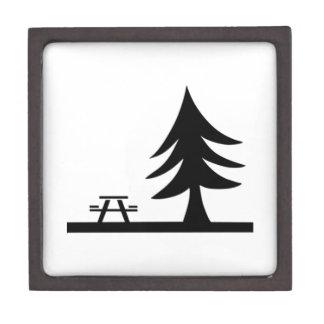 Sitio para acampar caja de regalo de calidad