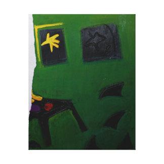 Sitio part2 P del verde del libro del artista de Lona Envuelta Para Galerias