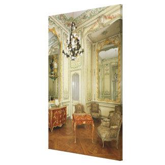 Sitio privado del Dauphine Marie-Josephe Impresión En Lona Estirada