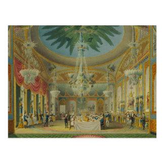 Sitio que banquetea, de 'vistas del pabellón real tarjeta postal