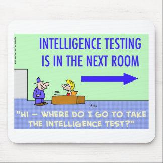 sitio siguiente de prueba de la inteligencia mousepads