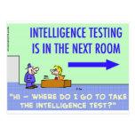 sitio siguiente de prueba de la inteligencia postales