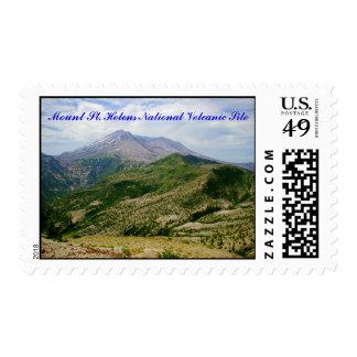 Sitio volcánico nacional del Monte Saint Helens Franqueo