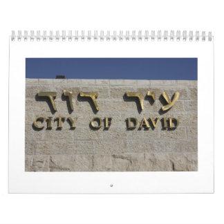 Sítios Arqueológicos em Israel Calendar