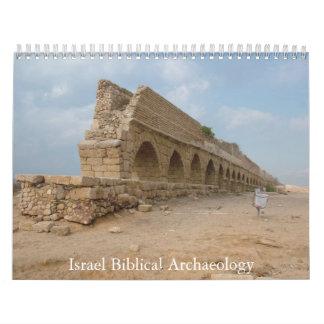 Sitios bíblicos de la arqueología en Israel hoy Calendario