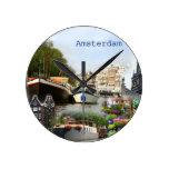 Sitios turísticos de Amsterdam Relojes De Pared