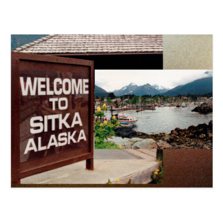 Sitka, Alaska Postcard