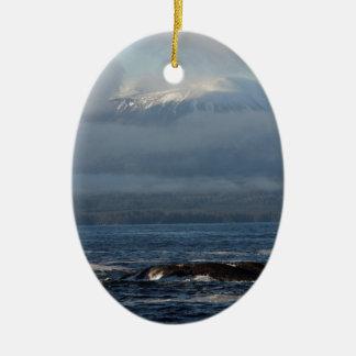 Sitka Alaska Souvenir Gifts Ceramic Ornament