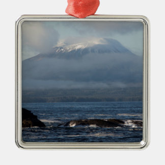Sitka Alaska Souvenir Gifts Metal Ornament